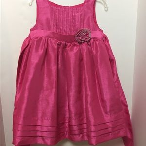 Girl's Pink Holiday Dress